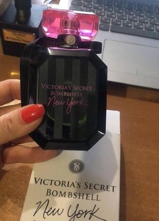 Bombshell new york victoria's secret 100 ml тестер