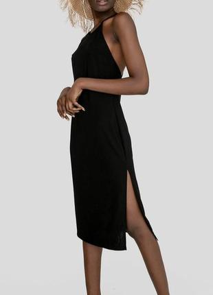 Легкое шифоновое платье комбинация , платье ночнушка