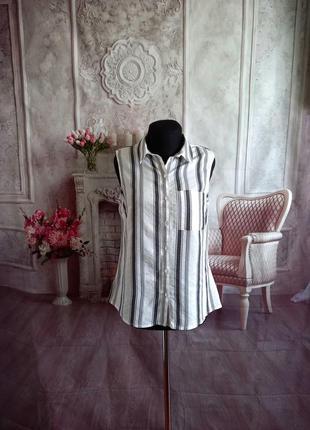 Блузка рубашка вискоза
