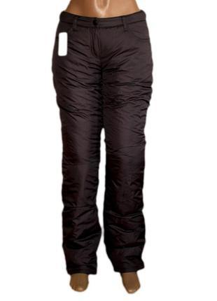 Болоневые штаны на флисе s, xs