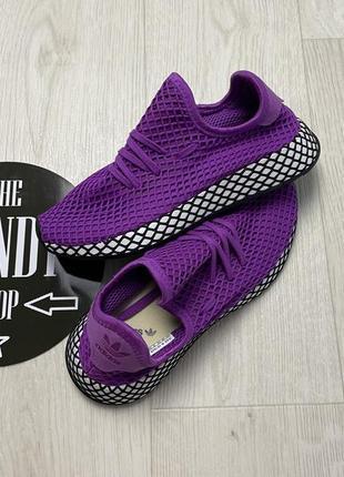 Стильные кроссовки adidas deerupt, размер 37,5