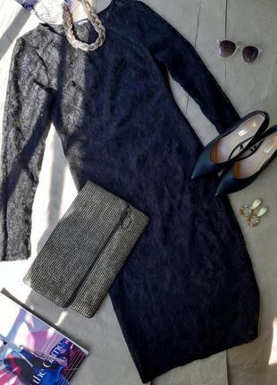 Вечірня сукня платье міді гіпюр missguided сітка накидка