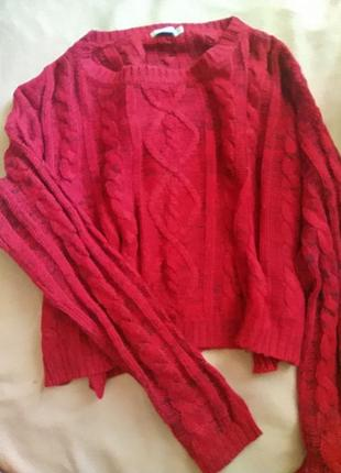 Укороченный свитер bershka