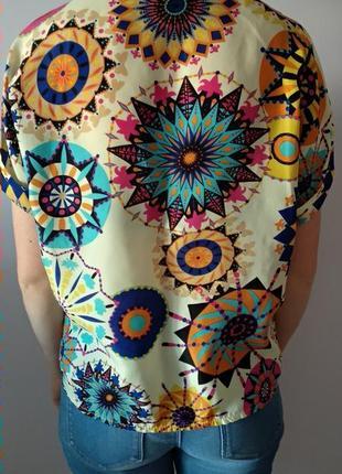 Кльова дітня кольлора блуза футболка розмір універсальний4 фото