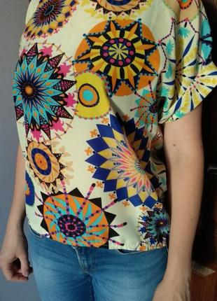 Кльова дітня кольлора блуза футболка розмір універсальний