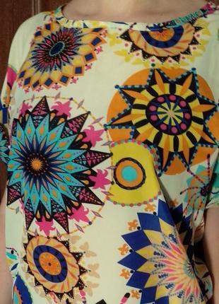 Кльова дітня кольлора блуза футболка розмір універсальний2 фото