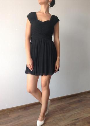 Платье с фатином / праздничное платье / нарядное платье / большая распродажа!