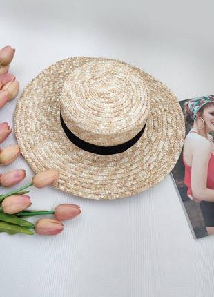 Новий солом´яний капелюх від сонця