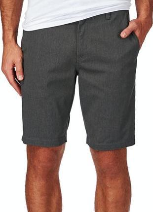 Volcom frickin modern stretch универсальные мужские трекинговые шорты размер 36