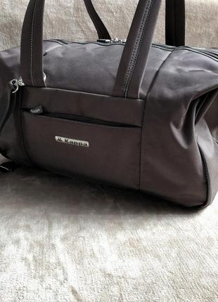 Большая вместительная дорожная сумка kappa оригинал