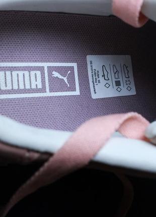 Оригинал puma cali nubuck женские кроссовки кеды5 фото