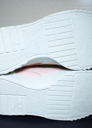 Оригинал puma cali nubuck женские кроссовки кеды6 фото