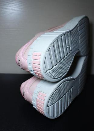 Оригинал puma cali nubuck женские кроссовки кеды4 фото