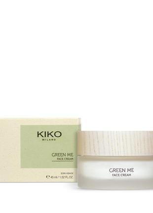 Зволожуючий крем green me kiko кіко face cream