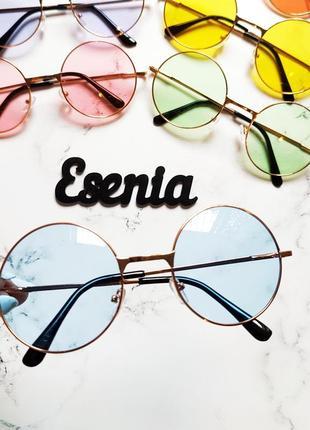 Окуляри круглі очки круглые