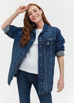 Джинсовая  куртка lc waikiki , джинсовый пиджак