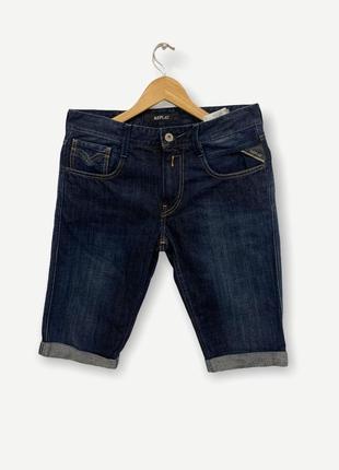 Шорты джинсовые мужскые replay denim