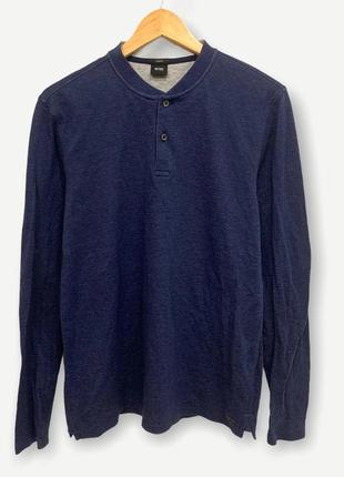 Кофта мужская лонгслив свитшот свитер hugo boss оригинал