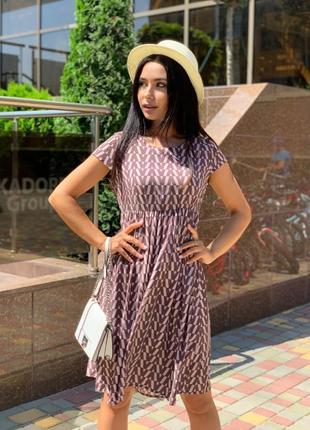 Платье летнее женское легкое свободное короткое мини батал
