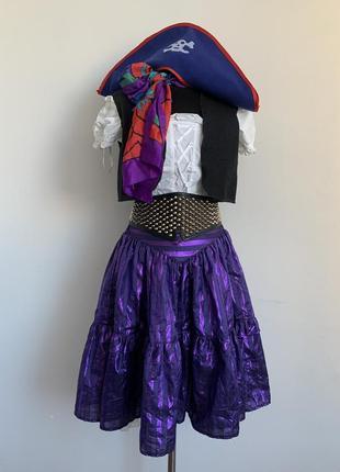Пиратка костюм карнавальный