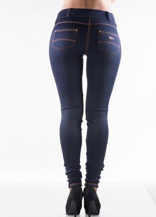 Теплые леггинсы под джинсу