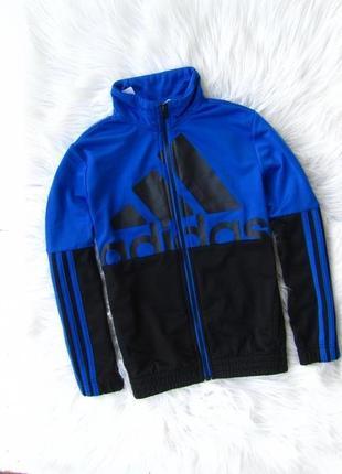 Спортивная кофта свитшот бомбер мастерка adidas