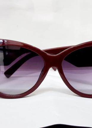 Ультра модные женские очки с широкой дужкой