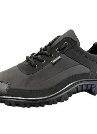 Кросівки чоловічі чорні балонові (z-18)