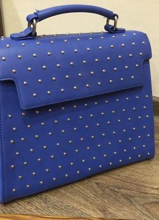 Красивая синяя сумка оригинал