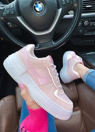 Кроссовки nike air force shadow rose розовые купить найк шадоу женские
