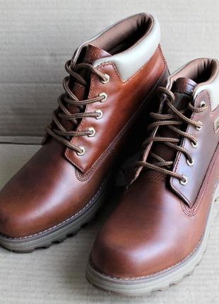 Ботинки caterpillar founder brown sugar p720916 оригинал натуральная кожа