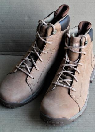 Ботинки caterpillar cast p724764 indian tan оригинал натуральный нубук
