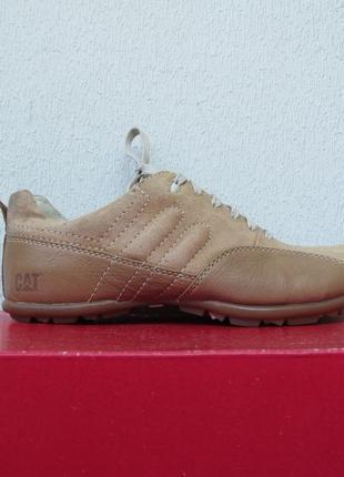 Женские спортивные туфли cat, кроссовки из натуральной кожи caterpillar