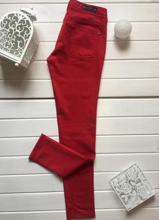 (р. s) красные брюки / цветные красные джинсы бренда bonobo la moinerie № 282.