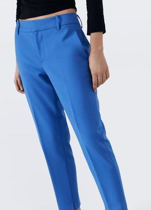 В наличии!! офигенные яркие брюки 6136 041 zara