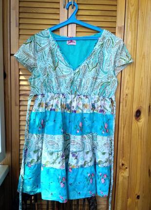Платье на жару 💯 коттон!