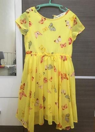 Платье шифоновое hm 116