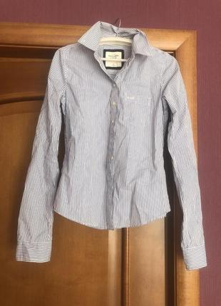 Рубашка abercrombie & fitch xs