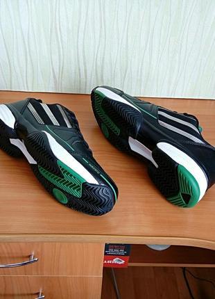 Мужские кожаные кроссовки adidas adizero.