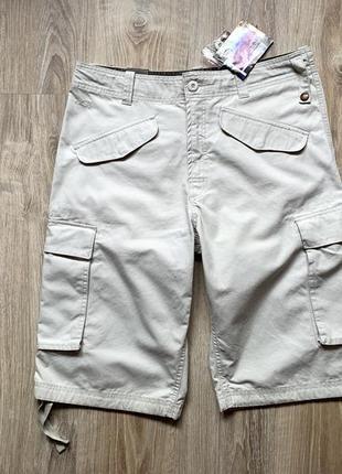 Мужские хлопковые шорты с карманами карго o`neill