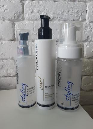 Флюид/крем-гель/мусс для укладки волос