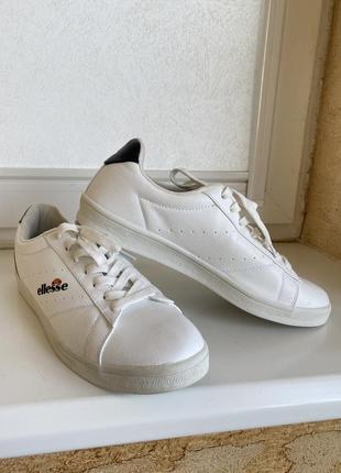Белые летние кеды оригинал ellesse