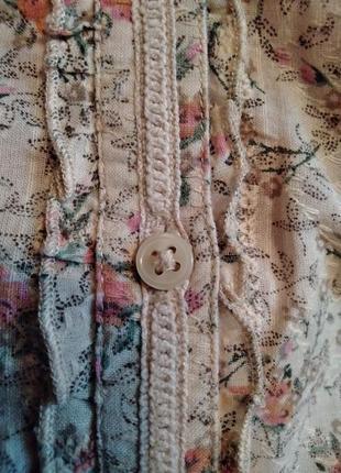 Блуза next. размер 44-46-48.100% cotton.