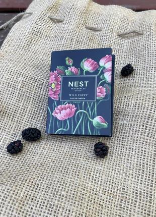 Парфюмированная вода nest fragrances new york wild poppy