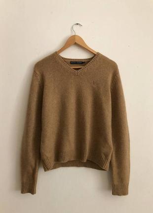 Вязаный  шерстяной свитер polo ralph lauren свитшот кофта светер
