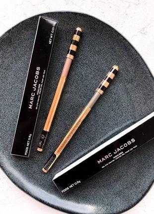 Гелиевые карандаши для глаз marc jacobs highliner gel eye crayon