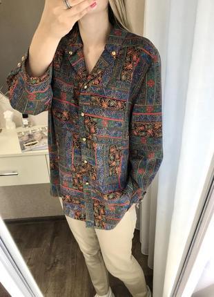 Французкая винтажная блуза