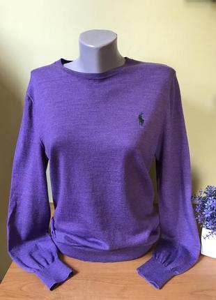 Шерстяной свитер polo ralph lauren