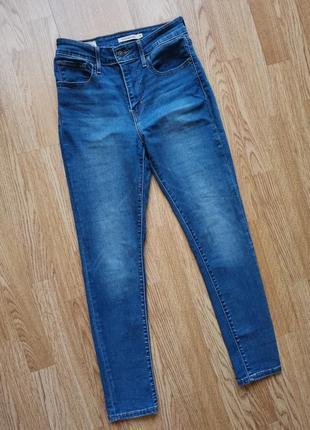 Levis 721 high rise skinny джинсы с высокой посадкой