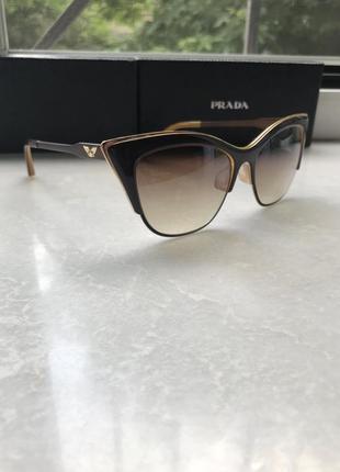Солнцезащитные очки кошечки, cat eyes, премиум бренд